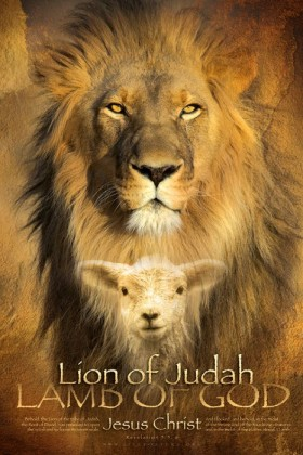lion of judah lamb of God