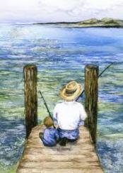 grandfather fishing