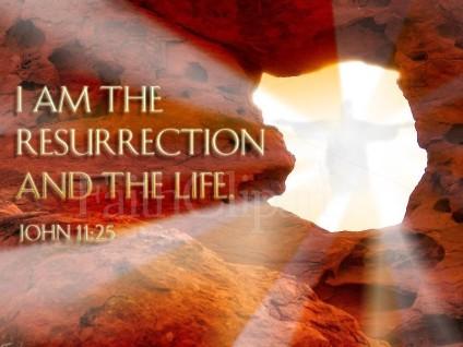 Jesus-I am the resurrection