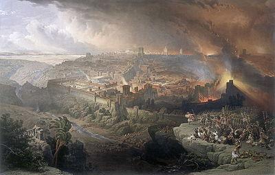 distrugerea Ierusalimului-Ercole De Roberti