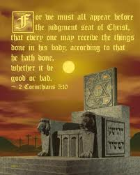 judgement seat of Christ