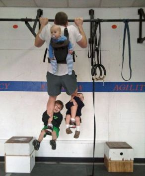 Father workout