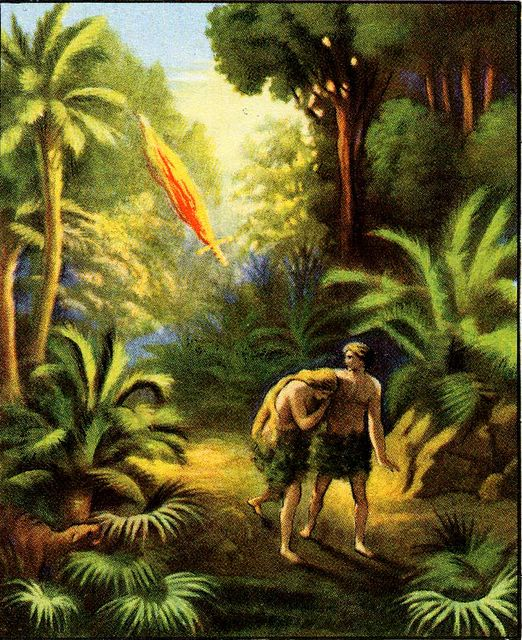 Adam and Eve Casted Out from the Garden Genesis 3:24