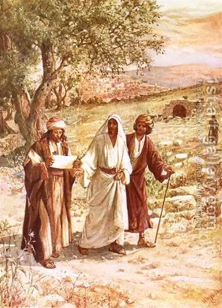 Jesus-Appearing-To-Two-Disciples-On-The-Road-To-Emmaus