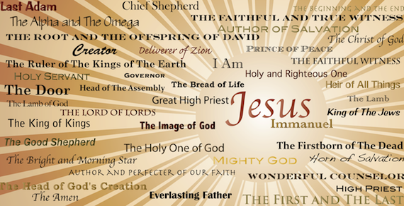 Names of jesus christ