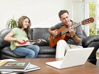 Father_Girl Guitar