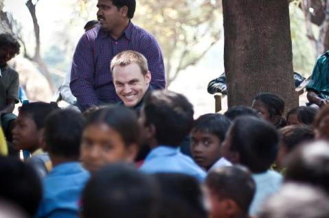 David Platt in India photo credit David Platt