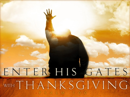 psalm-100 thanksgiving