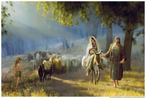 Maria si Iosif