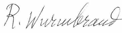 wurmbrand signature