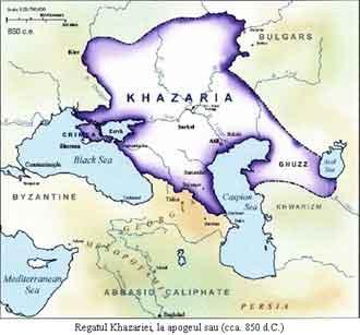 khazaria imperiul kazar