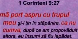 1 Corinteni 9-27