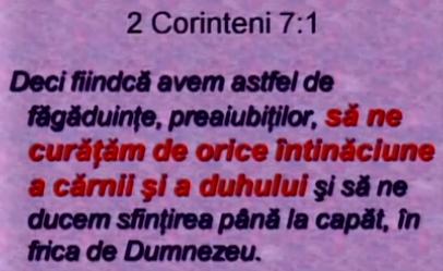 2 Corinteni 7-1