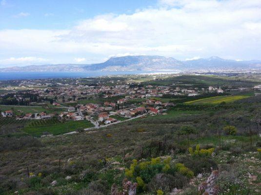 old Corinth Greece Biserica Agape Atena