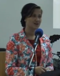 Daniela Delibas Conferinta femei, Portugalia