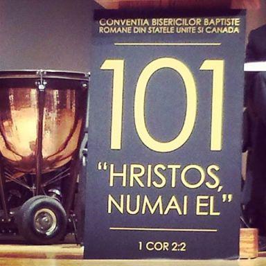 101 a Conventie a Bisericilor Baptiste SUA si Canada 2013