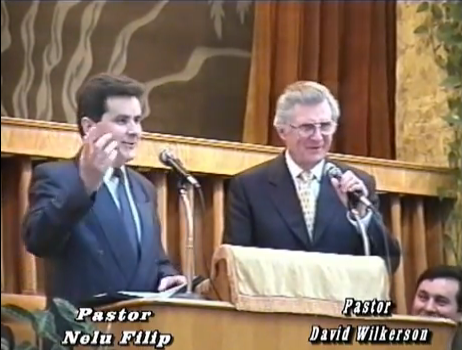 David Wilkerson cu Nelu Filip rodiagnusdei