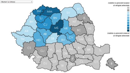 Martorii lui Iehova in Romania