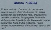 Marcu 7 ce iese din om Brie