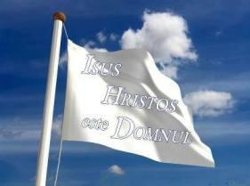 isus Hristos este Domnul flag