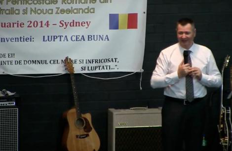 Florin Ianovici Conventia Sydney 2014