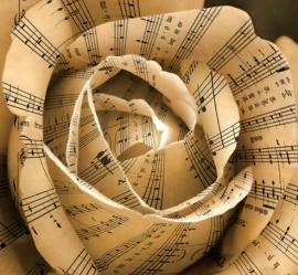 music rose notes sheet music