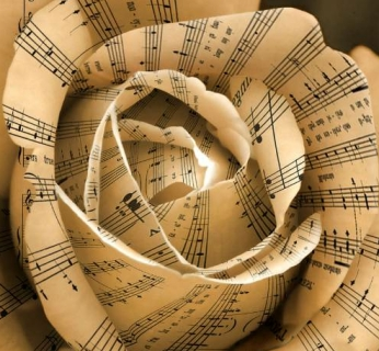 music rose notes sheet music