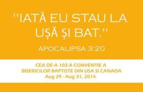 A 102-a Conventie a Bisericilor Baptiste Hickory, NC 2014