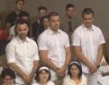 Trei frati se boteaza Beius