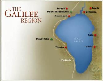 regiunea galileei