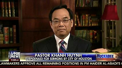 Pastor Khanh Huynh - Photo credit Fox News