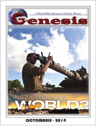 Revista Genesis 2014 Editia Octombrie