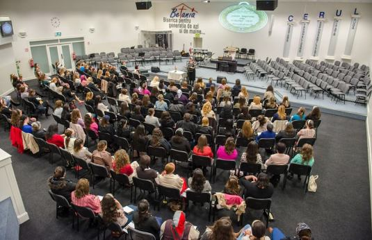Geta Iliesi Betania Dublin 2014 conferinta femeilor