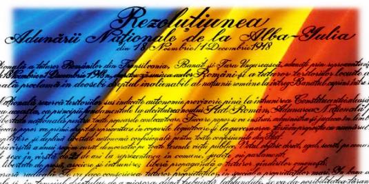 rezolutia-unirii Romania