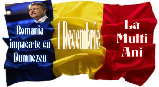 1 decembire romania Iohannis