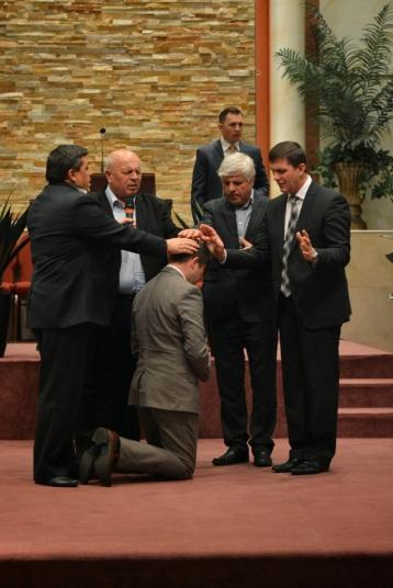 Ordinarea Pastorului Emi Fedur