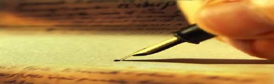 fountain pen paper writing