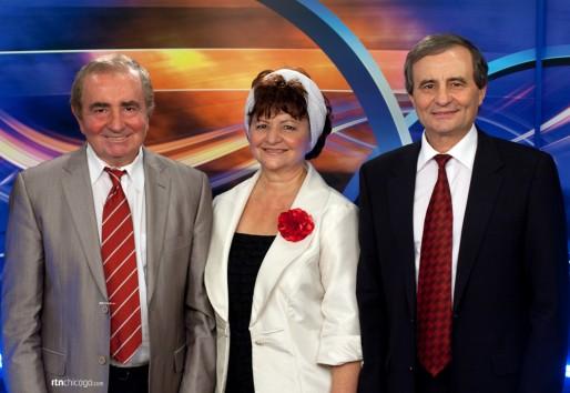 Fratii Groza la Romanian Television Network Chicago