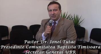 Pastor Ionel Tutac