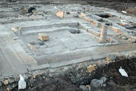 sinagoga din Magdala unde a predicat Isus