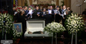 Corul barbatesc Emanuel Sacramento Miclea funeral