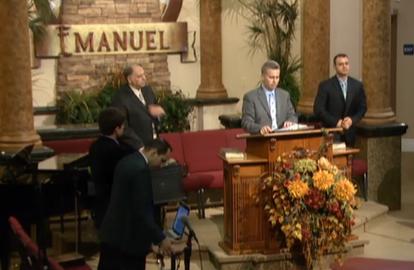 "David ""Dutu"" Miclea ultima predica in Biserica Emanuel Sacramento unde a slujit cu Pastorul senior Alin Bob."