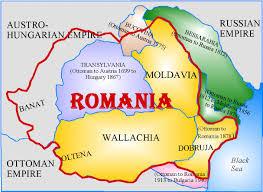 romania harta map