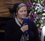 Rozalia Blaga Miclea funeral