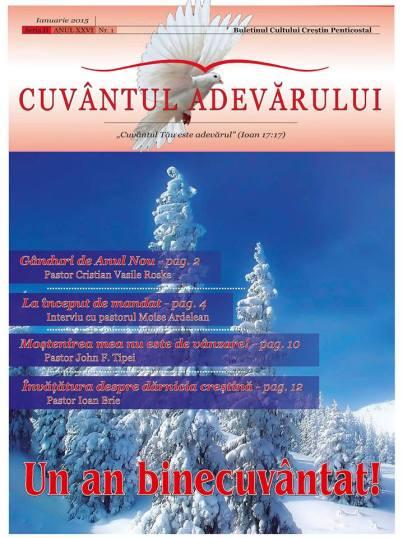 Cuvantul Adevarului Editia Ianuarie 2015