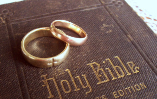Bible,covenant,rings,wedding,marriage,bride