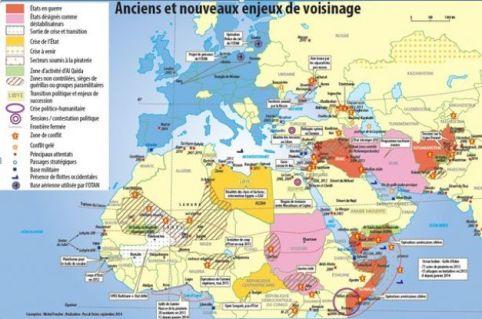 Noua ordine conflictuală mondială: încercuirea Europei