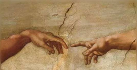 hand of God art