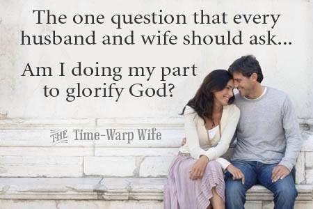 Arata casnicia noastra/voastra gloria lui Dumnezeu? Photo credit Facebook