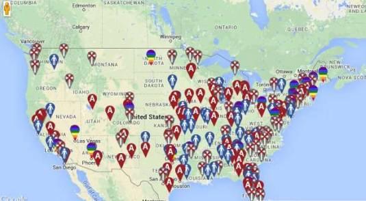 Bigotry map